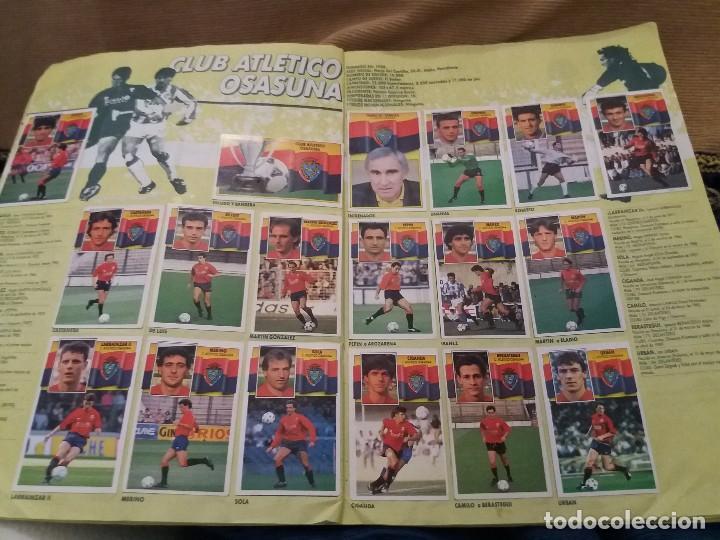 Sammelleidenschaft Sport: LOTE 2 ALBUM ALBUMES ESTE AÑO 89/90 90/91 PARA APROVECHAR CROMOS. LEER DESCRIPCIÓN - Foto 34 - 119299563