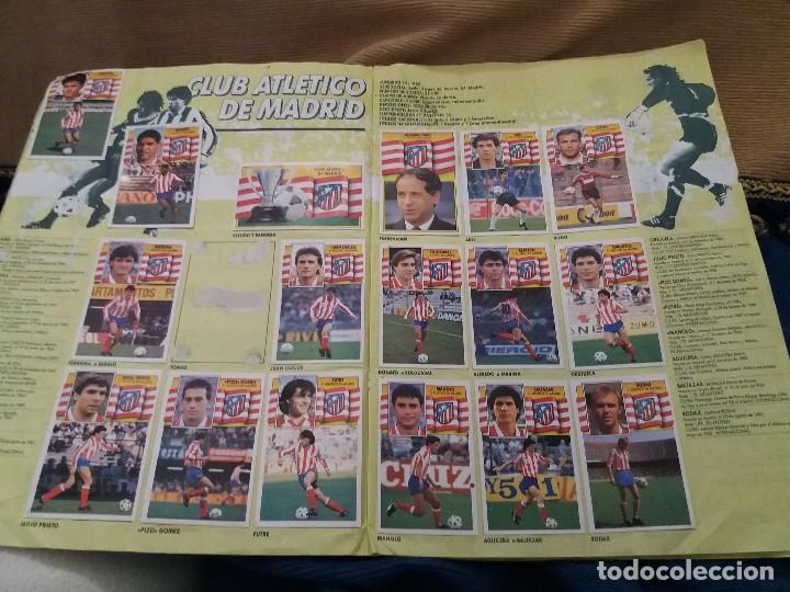 Sammelleidenschaft Sport: LOTE 2 ALBUM ALBUMES ESTE AÑO 89/90 90/91 PARA APROVECHAR CROMOS. LEER DESCRIPCIÓN - Foto 35 - 119299563