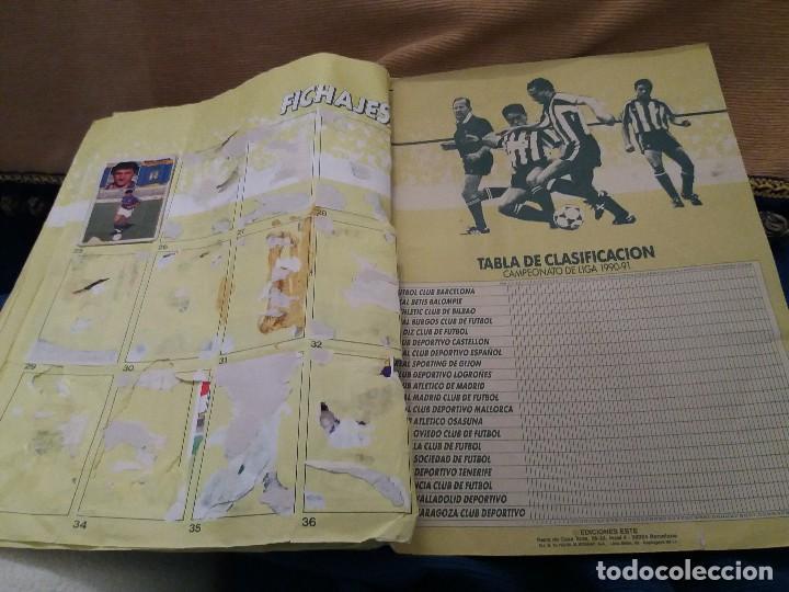 Sammelleidenschaft Sport: LOTE 2 ALBUM ALBUMES ESTE AÑO 89/90 90/91 PARA APROVECHAR CROMOS. LEER DESCRIPCIÓN - Foto 44 - 119299563