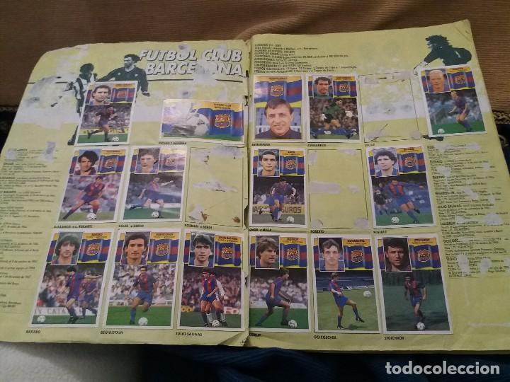 Sammelleidenschaft Sport: LOTE 2 ALBUM ALBUMES ESTE AÑO 89/90 90/91 PARA APROVECHAR CROMOS. LEER DESCRIPCIÓN - Foto 45 - 119299563