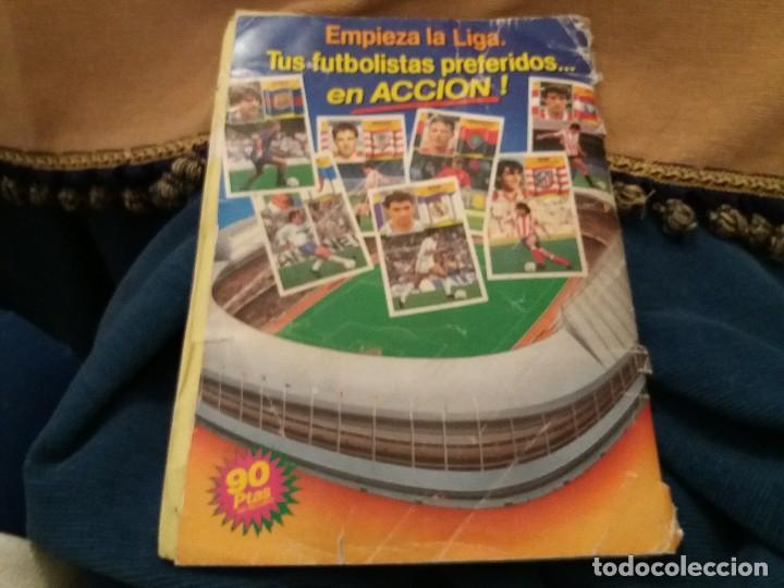 Sammelleidenschaft Sport: LOTE 2 ALBUM ALBUMES ESTE AÑO 89/90 90/91 PARA APROVECHAR CROMOS. LEER DESCRIPCIÓN - Foto 46 - 119299563
