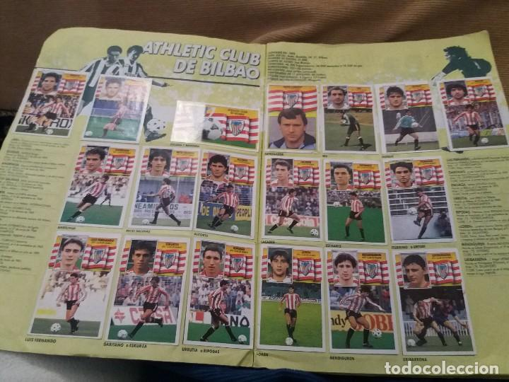 LOTE 2 ALBUM ALBUMES ESTE AÑO 89/90 90/91 PARA APROVECHAR CROMOS. LEER DESCRIPCIÓN (Sammelleidenschaft Sport - Sport-Sammelalben und Sticker - Unvollständige Fußball-Sammelalben)