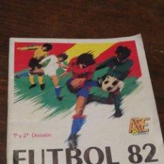 Coleccionismo deportivo: ALBUM CROMOS FUTBOL 82- 1°Y 2°DIVISIÓN- FIGURINE PANINI, CONTIENE 69 CROMOS.. Lote 119310298