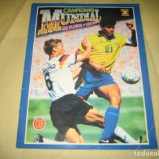Coleccionismo deportivo: CAMPEONATO MUNDIAL DE FUTBOL - USA 94 - CONTIENE 90 CROMOS . Lote 119524475