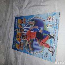 Coleccionismo deportivo: MESSI NUEVO EN EL ALBUM DE LA LIGA 2009-10 PLANCHA NUEVO Y VACIO. Lote 119852911