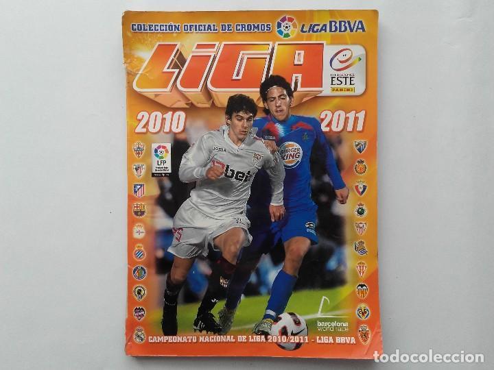 ALBUM CROMOS FUTBOL LIGA 2010 2011, COLECCIONES ESTE, CONTIENE 492 CROMOS + 27 CROMO CHICLE (Coleccionismo Deportivo - Álbumes y Cromos de Deportes - Álbumes de Fútbol Incompletos)