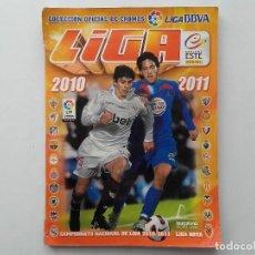 Coleccionismo deportivo: ALBUM CROMOS FUTBOL LIGA 2010 2011, COLECCIONES ESTE, CONTIENE 492 CROMOS + 27 CROMO CHICLE. Lote 119930827