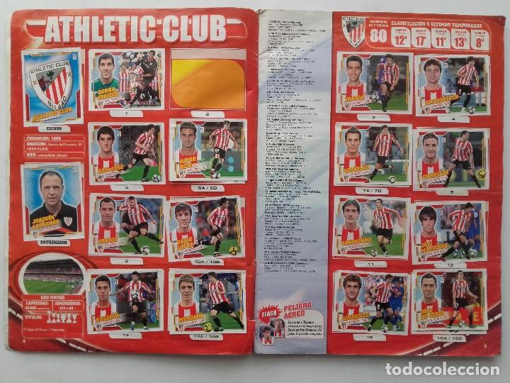 Coleccionismo deportivo: ALBUM CROMOS FUTBOL LIGA 2010 2011, COLECCIONES ESTE, CONTIENE 492 CROMOS + 27 CROMO CHICLE - Foto 3 - 119930827