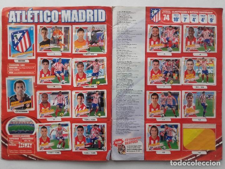 Coleccionismo deportivo: ALBUM CROMOS FUTBOL LIGA 2010 2011, COLECCIONES ESTE, CONTIENE 492 CROMOS + 27 CROMO CHICLE - Foto 4 - 119930827