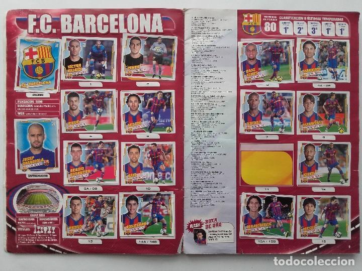 Coleccionismo deportivo: ALBUM CROMOS FUTBOL LIGA 2010 2011, COLECCIONES ESTE, CONTIENE 492 CROMOS + 27 CROMO CHICLE - Foto 5 - 119930827