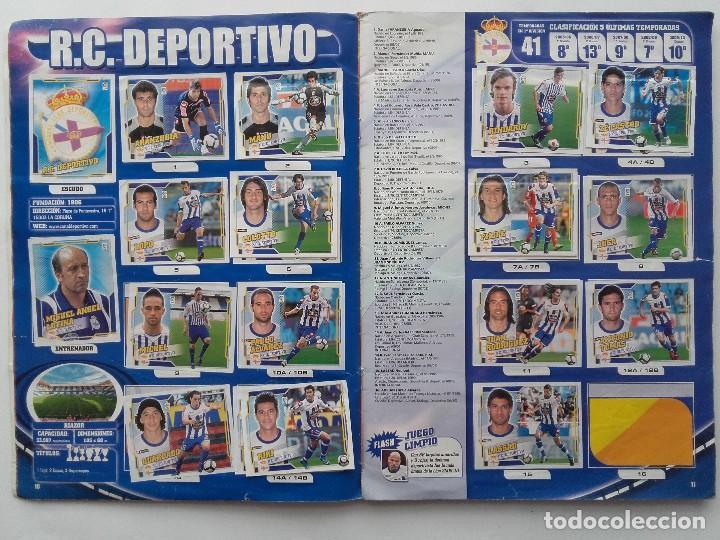 Coleccionismo deportivo: ALBUM CROMOS FUTBOL LIGA 2010 2011, COLECCIONES ESTE, CONTIENE 492 CROMOS + 27 CROMO CHICLE - Foto 6 - 119930827