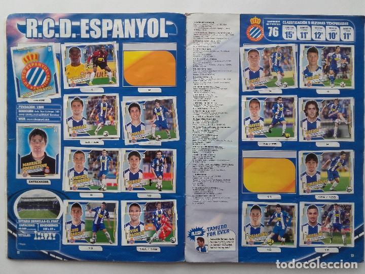 Coleccionismo deportivo: ALBUM CROMOS FUTBOL LIGA 2010 2011, COLECCIONES ESTE, CONTIENE 492 CROMOS + 27 CROMO CHICLE - Foto 7 - 119930827