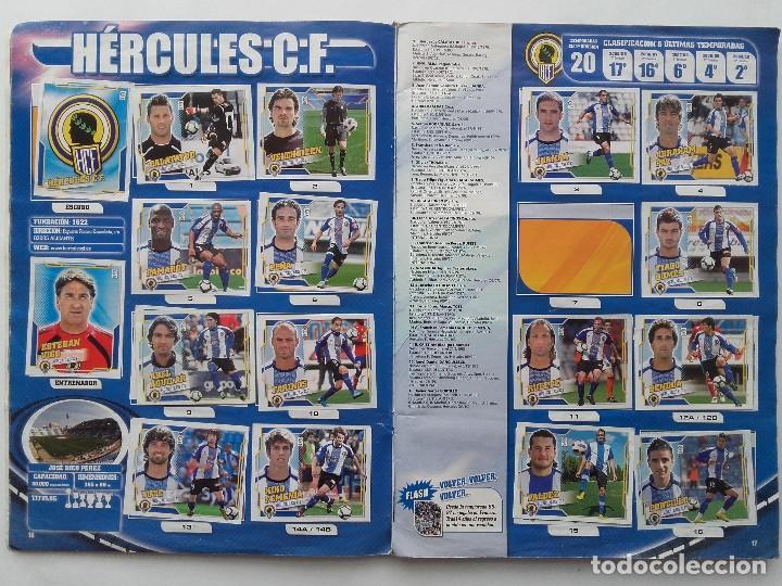 Coleccionismo deportivo: ALBUM CROMOS FUTBOL LIGA 2010 2011, COLECCIONES ESTE, CONTIENE 492 CROMOS + 27 CROMO CHICLE - Foto 9 - 119930827