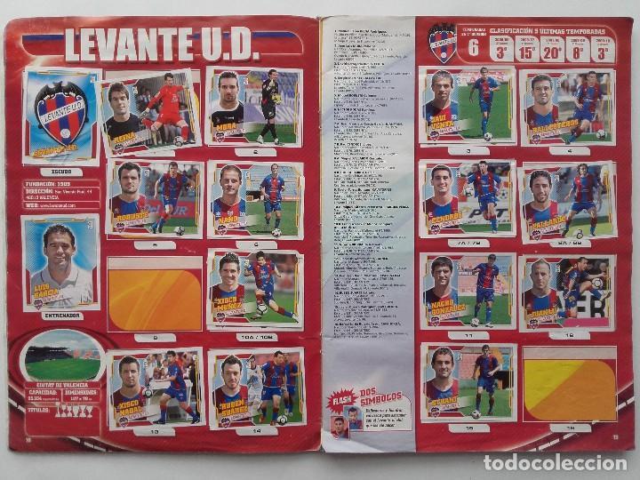 Coleccionismo deportivo: ALBUM CROMOS FUTBOL LIGA 2010 2011, COLECCIONES ESTE, CONTIENE 492 CROMOS + 27 CROMO CHICLE - Foto 10 - 119930827