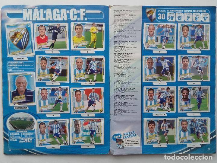 Coleccionismo deportivo: ALBUM CROMOS FUTBOL LIGA 2010 2011, COLECCIONES ESTE, CONTIENE 492 CROMOS + 27 CROMO CHICLE - Foto 12 - 119930827