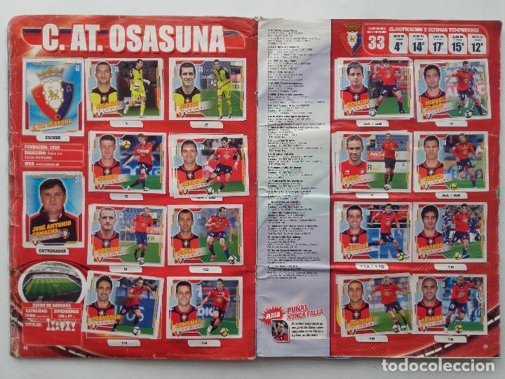 Coleccionismo deportivo: ALBUM CROMOS FUTBOL LIGA 2010 2011, COLECCIONES ESTE, CONTIENE 492 CROMOS + 27 CROMO CHICLE - Foto 14 - 119930827