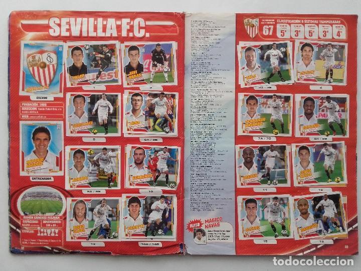 Coleccionismo deportivo: ALBUM CROMOS FUTBOL LIGA 2010 2011, COLECCIONES ESTE, CONTIENE 492 CROMOS + 27 CROMO CHICLE - Foto 17 - 119930827