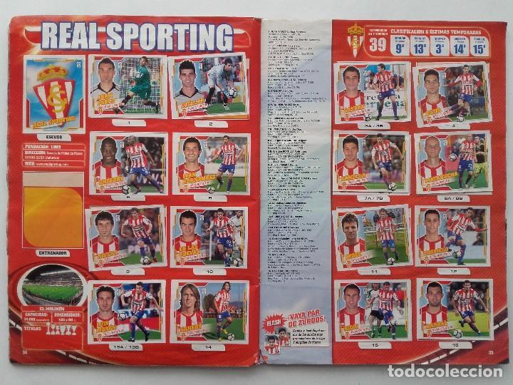 Coleccionismo deportivo: ALBUM CROMOS FUTBOL LIGA 2010 2011, COLECCIONES ESTE, CONTIENE 492 CROMOS + 27 CROMO CHICLE - Foto 18 - 119930827