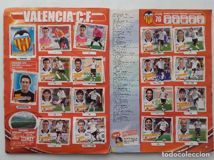 Coleccionismo deportivo: ALBUM CROMOS FUTBOL LIGA 2010 2011, COLECCIONES ESTE, CONTIENE 492 CROMOS + 27 CROMO CHICLE - Foto 19 - 119930827