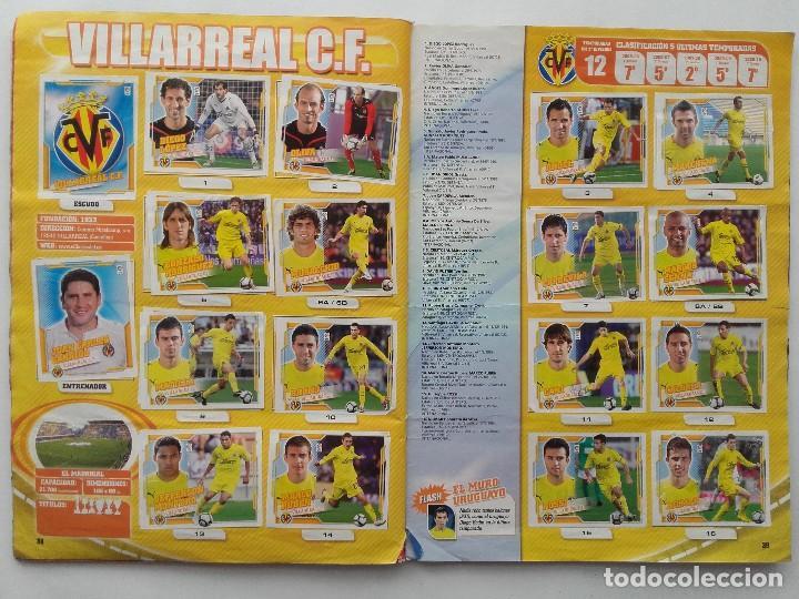 Coleccionismo deportivo: ALBUM CROMOS FUTBOL LIGA 2010 2011, COLECCIONES ESTE, CONTIENE 492 CROMOS + 27 CROMO CHICLE - Foto 20 - 119930827