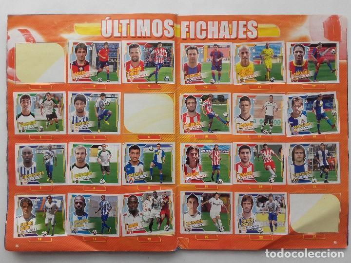 Coleccionismo deportivo: ALBUM CROMOS FUTBOL LIGA 2010 2011, COLECCIONES ESTE, CONTIENE 492 CROMOS + 27 CROMO CHICLE - Foto 23 - 119930827