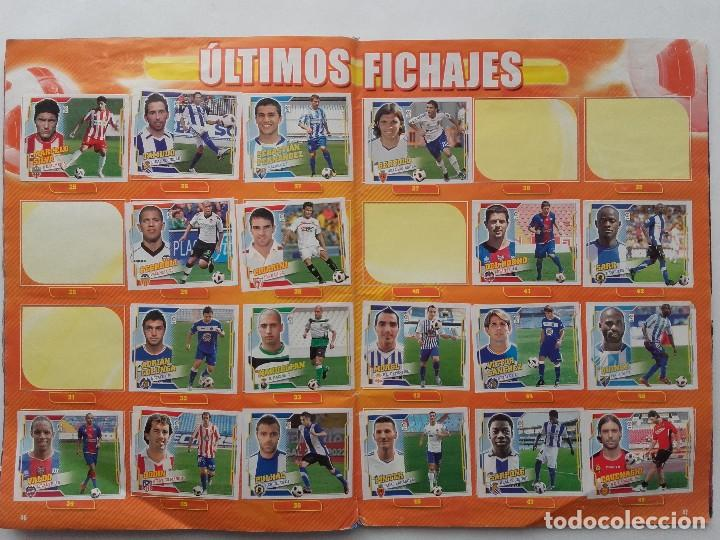 Coleccionismo deportivo: ALBUM CROMOS FUTBOL LIGA 2010 2011, COLECCIONES ESTE, CONTIENE 492 CROMOS + 27 CROMO CHICLE - Foto 24 - 119930827