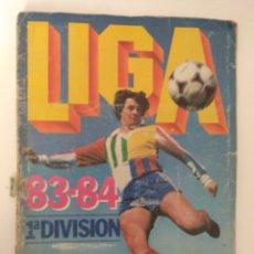 Coleccionismo deportivo: ÁLBUM LIGA 83-84, 1983-1984 1A DIVISIÓN, VACÍO. Lote 125499067