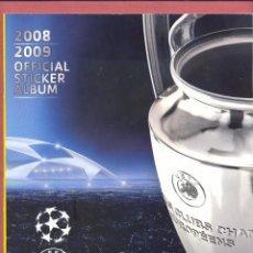 Coleccionismo deportivo: ALBUM UEFA CHAMPIONS LEAGUE 2008-2009 PANINI, NUEVO VACIO, SIN CROMOS, VER FOTOS. Lote 120110699