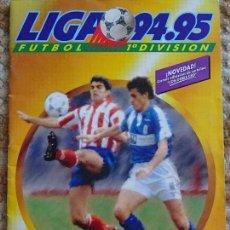 Coleccionismo deportivo: ÁLBUM DE CROMOS FÚTBOL CONTIENE 436 CROMOS. MUY COMPLETO LIGA TEMPORADA 94 95 1994 1995 ESTE. 430 GR. Lote 120189315