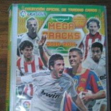 Coleccionismo deportivo: ALBUM MEGA CRACKS 2010 2011, CON 240 CARTAS CROMOS.. Lote 120251983