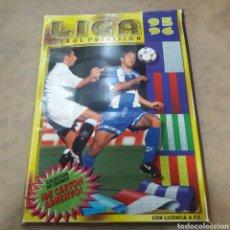 Coleccionismo deportivo: ÁLBUM FÚTBOL 1995 1996 95 96 ESTE CROMOS DIFÍCILES. Lote 120305827