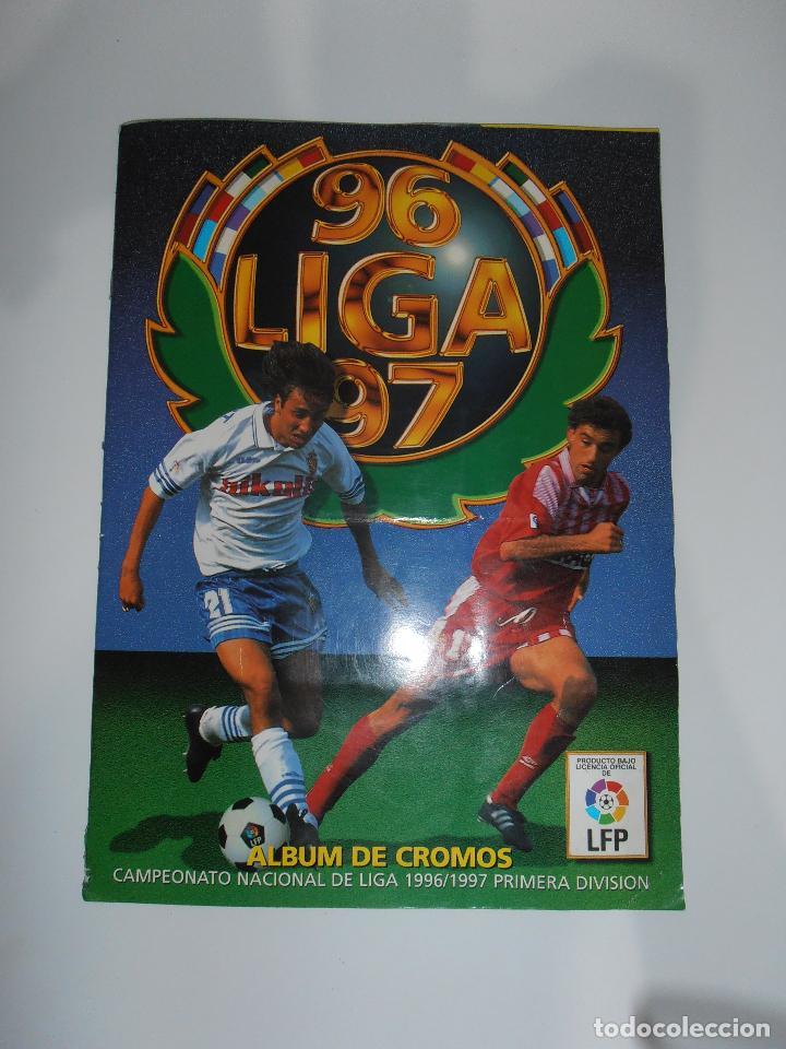 ALBUM DE CROMOS FUTBOL, LIGA 96 97 EDICIONES ESTE, COLOCAS, 1996 1997 (Coleccionismo Deportivo - Álbumes y Cromos de Deportes - Álbumes de Fútbol Incompletos)