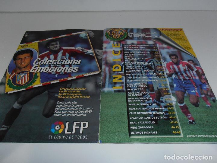 Coleccionismo deportivo: ALBUM DE CROMOS FUTBOL, LIGA 96 97 EDICIONES ESTE, COLOCAS, 1996 1997 - Foto 2 - 120322599