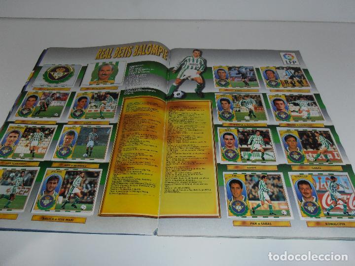 Coleccionismo deportivo: ALBUM DE CROMOS FUTBOL, LIGA 96 97 EDICIONES ESTE, COLOCAS, 1996 1997 - Foto 4 - 120322599
