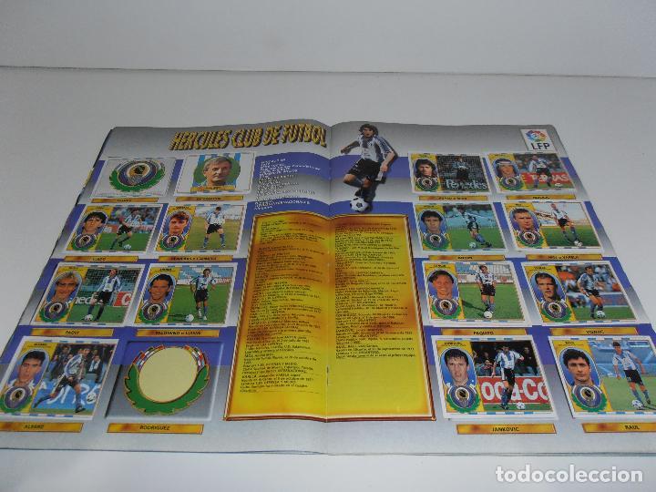 Coleccionismo deportivo: ALBUM DE CROMOS FUTBOL, LIGA 96 97 EDICIONES ESTE, COLOCAS, 1996 1997 - Foto 12 - 120322599