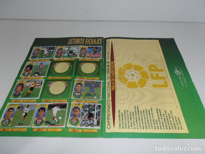 Coleccionismo deportivo: ALBUM DE CROMOS FUTBOL, LIGA 96 97 EDICIONES ESTE, COLOCAS, 1996 1997 - Foto 26 - 120322599
