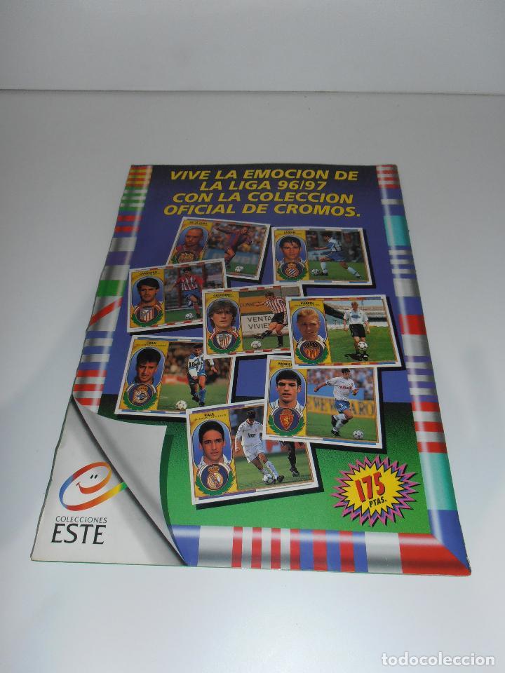 Coleccionismo deportivo: ALBUM DE CROMOS FUTBOL, LIGA 96 97 EDICIONES ESTE, COLOCAS, 1996 1997 - Foto 27 - 120322599