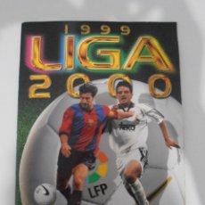 Coleccionismo deportivo: ALBUM DE CROMOS FUTBOL, LIGA 99 00 EDICIONES ESTE, COLOCAS, 8 FICHAJES BIS, 1999 2000. Lote 120324163