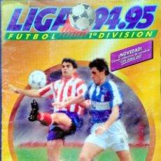 Coleccionismo deportivo: ALBUM FUTBOL LIGA 94 95 CON FICHAJES. MAS DE 280 CROMOS. Lote 120426735