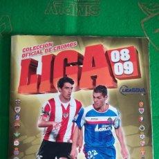 Coleccionismo deportivo: ALBUM LIGA ESTE 2008-2009 08-09 PANINI (529 CROMOS) COMPLETO AL 92% (C2). Lote 288667283