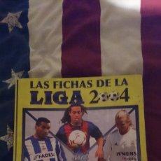 Coleccionismo deportivo: LIGA 2004 // 400 CROMOS. Lote 120577052