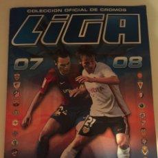 Coleccionismo deportivo: ALBUM LIGA ESTE 2007 2008 07 08 CON 372 CROMOS (CON RECUPERADOS). Lote 120690291