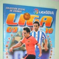 Coleccionismo deportivo: ALBUM INCOMPLETO DE CROMOS FUTBOL LIGA ESPAÑOLA 09-10 *** EDICIONES ESTE *** VER FOTOS. Lote 120744191