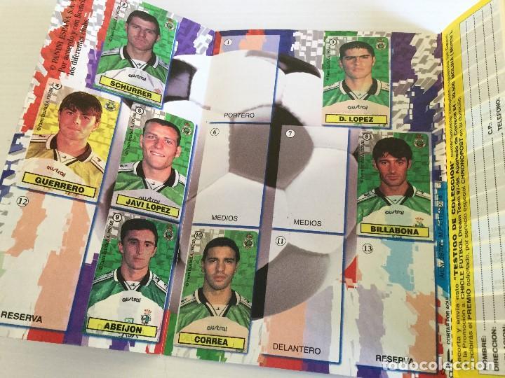 Lote 12 Álbumes Fútbol Dream Team 97-98 + Caja Chicles + Adhesivo Panini  Vidal