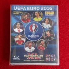 Coleccionismo deportivo: ALBUM ARCHIVADOR ADRENALYN UEFA EURO FRANCIA 2016 VACIO, NUEVO,. Lote 194603785