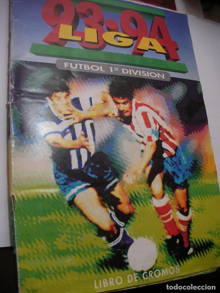 ANTIGUO LIBRO DE CROMOS LIGA 93-94 (Coleccionismo Deportivo - Álbumes y Cromos de Deportes - Álbumes de Fútbol Incompletos)