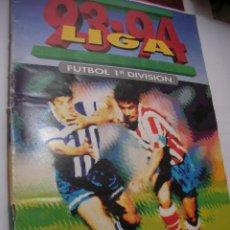 Coleccionismo deportivo: ANTIGUO LIBRO DE CROMOS LIGA 93-94. Lote 121170235