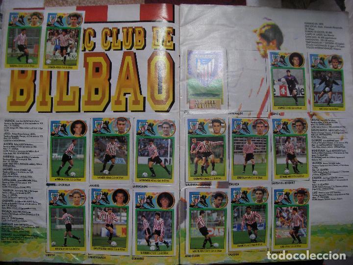 Coleccionismo deportivo: ANTIGUO LIBRO DE CROMOS LIGA 93-94 - Foto 3 - 121170235