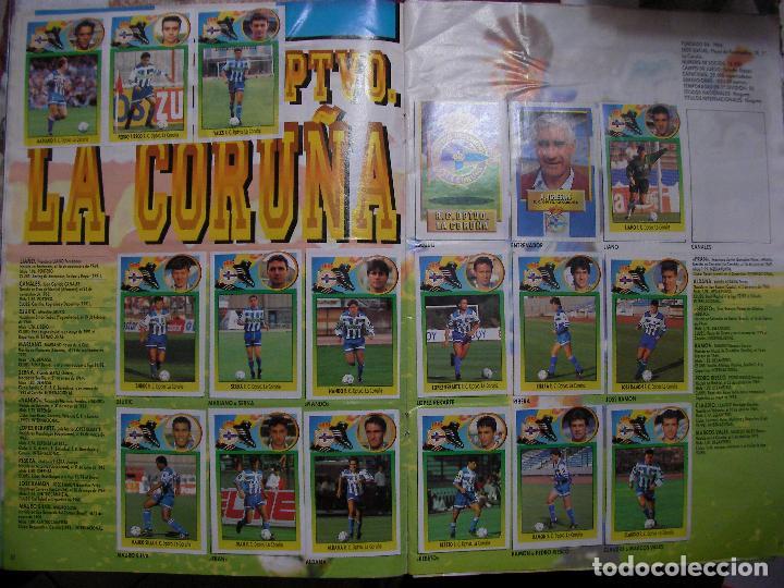 Coleccionismo deportivo: ANTIGUO LIBRO DE CROMOS LIGA 93-94 - Foto 5 - 121170235