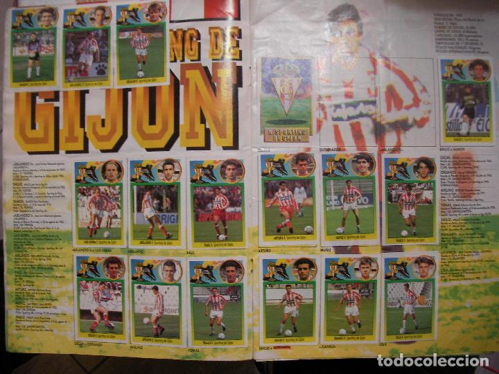 Coleccionismo deportivo: ANTIGUO LIBRO DE CROMOS LIGA 93-94 - Foto 6 - 121170235